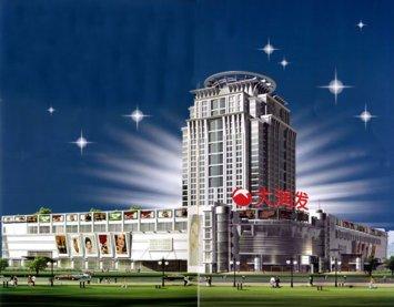 北海城市购物广场 建筑规划