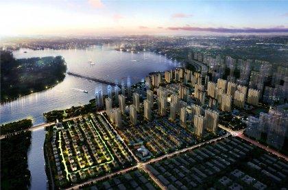 燕郊上上城理想新城二期和潮白河孔雀城盛景澜湾哪个图片